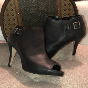Madden Girl Peep Toe Ankle Booties